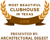 Most Beautiful Clubhouse in Texas 2018