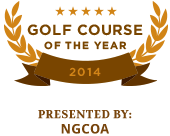 Golf Course of the Year 2014