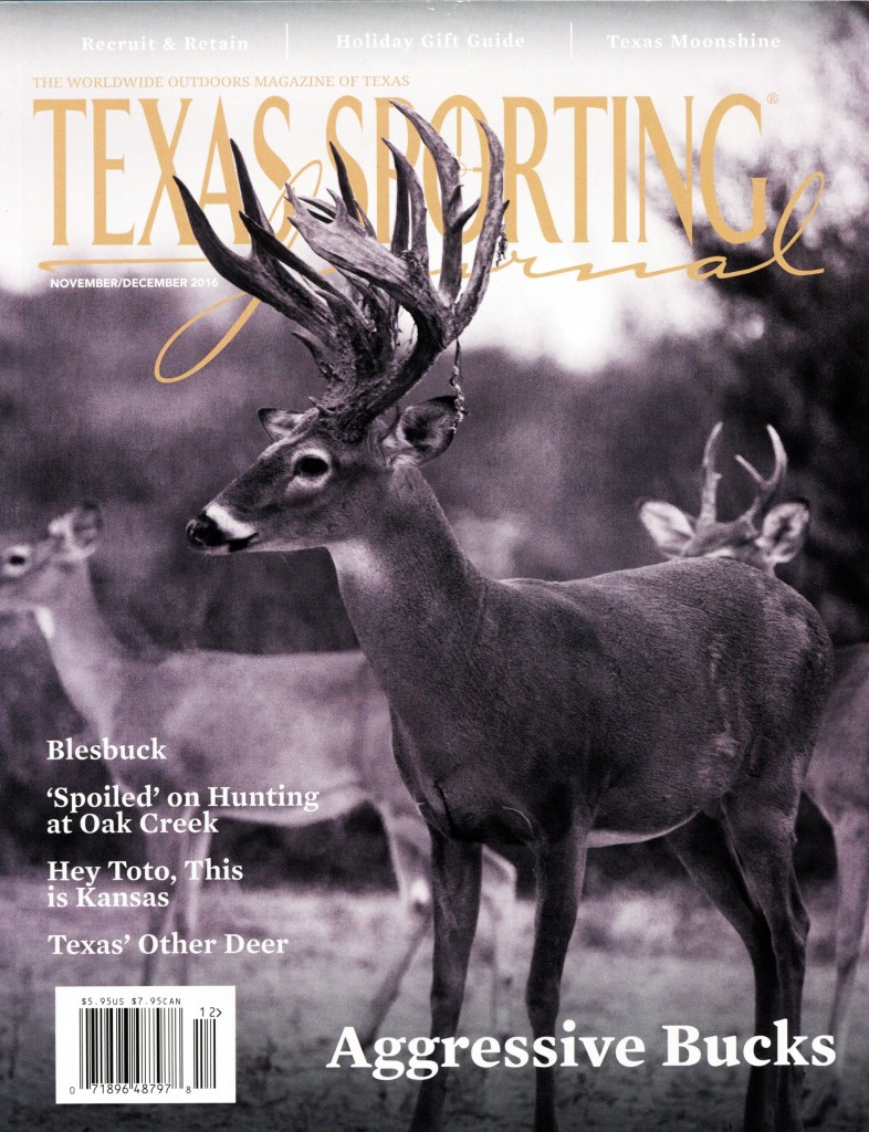 Texas Sporting Journal 11.16 Cover